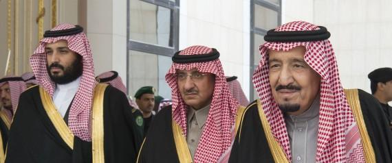 KING SALMAN AND CROWN PRINCE