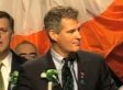 Scott Brown Cracks Joke About Rick Santorum And Condoms (VIDEO)