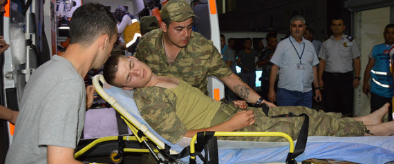 TURKISH SOLDIERS POISONED