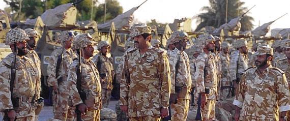 QATARI SOLDIERS IN BAHRAIN