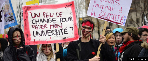 QUEBEC STUDENT PROTESTS TUITION