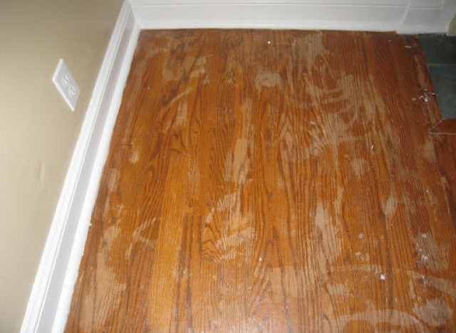 Diy ideas tips for refinishing wood floors huffpost for Diy wood flooring ideas