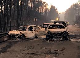 حريق ضخم يجتاح البرتغال ويحصد أرواح العشرات.. النيران حاصرت المواطنين بسياراتهم في حادثة هي الأكبر في تاريخ البلاد
