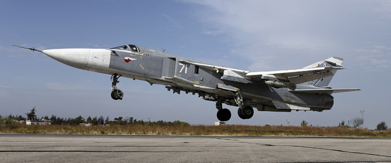 RUSSIA SYRIA AIRCRAFT