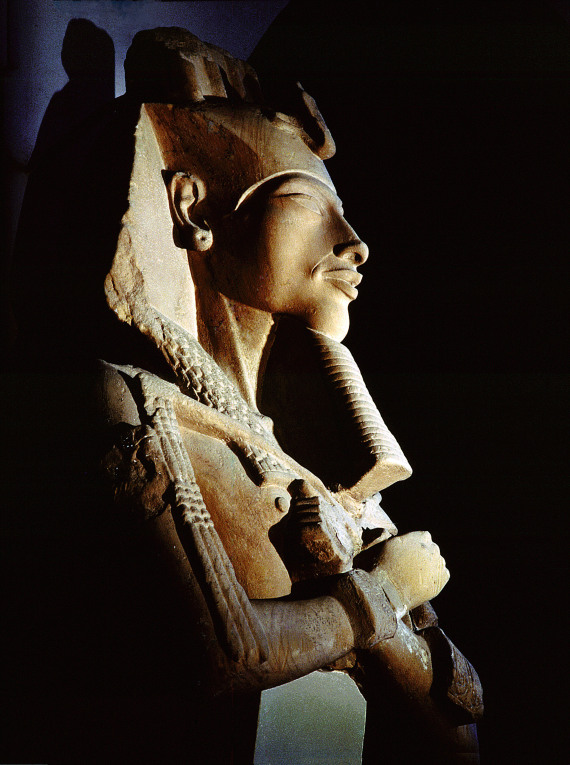 amenhotep iv bust
