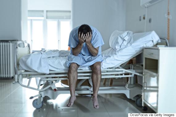 hurt patient