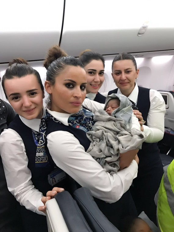 baby born on flights