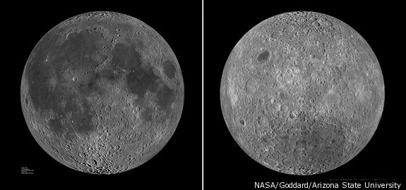 The Dark Side of the Moon: Why Do We Never See It? Is it Really Dark?