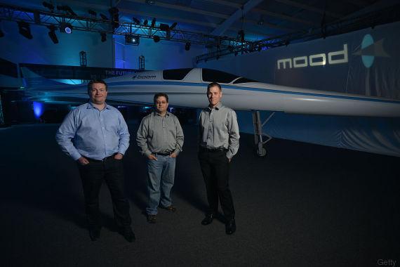 Überschallflugzeug Boom: Mit 2.700 km/h über dem Atlantik