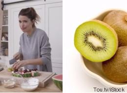 On mange ou pas la pelure de kiwi? Marilou dit que oui