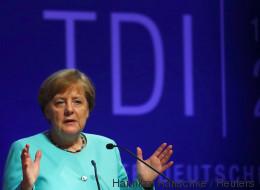 Merkel antwortet mit nur zwei Wörtern auf das zweiseitige Rentenkonzept der SPD