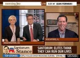 Morning Joe Rick Santorum