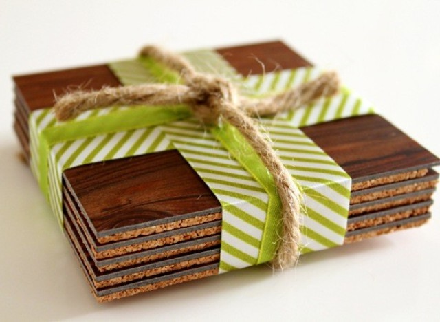 Craft Of The Day Wooden Coasters Huffpost