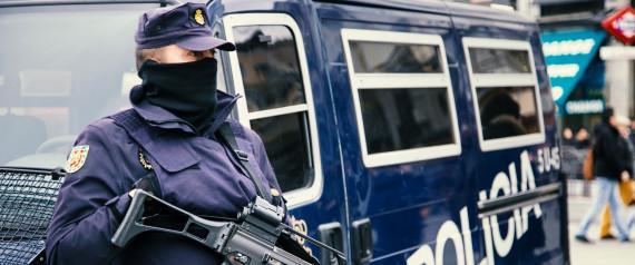 POLICE MADRID