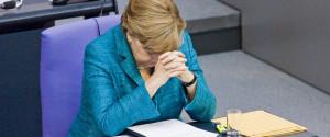 Merkel Tired