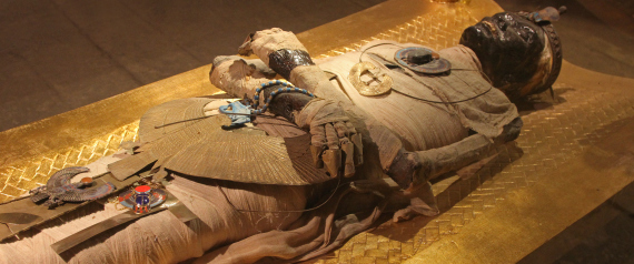 ANCIENT TOMB OF GOLD