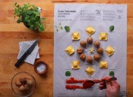 IKEA lance un livre de recettes très original