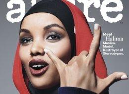 حليمة آدن تظهر كأول عارضة أزياء محجبة بغلاف مجلة ألور