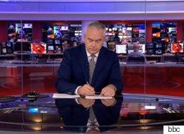 BBC 뉴스 중 방송사고가 나자 앵커는 4분 동안 아무 말도 하지 않았다(영상)
