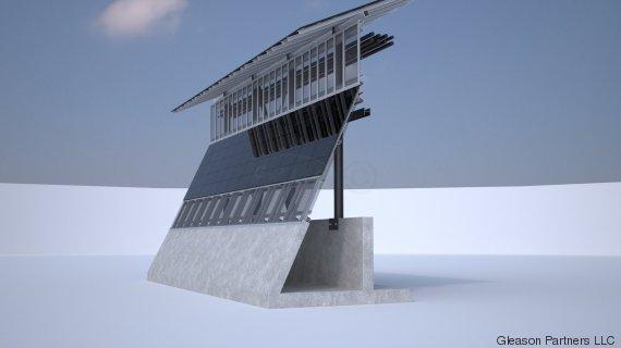 solar wall trump