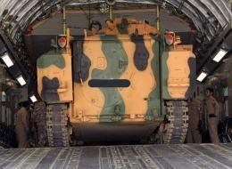 شاهد وصول الدفعة الثانية من القوات التركية إلى قطر
