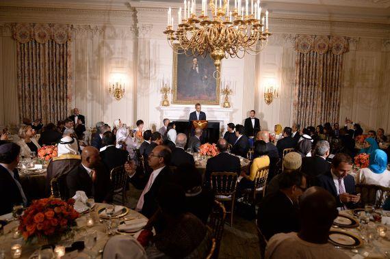 white house eating room