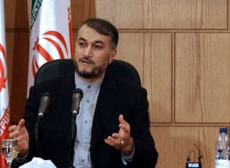 لأول مرة.. مسؤول إيراني يلقي كلمة خلال حفل في غزة
