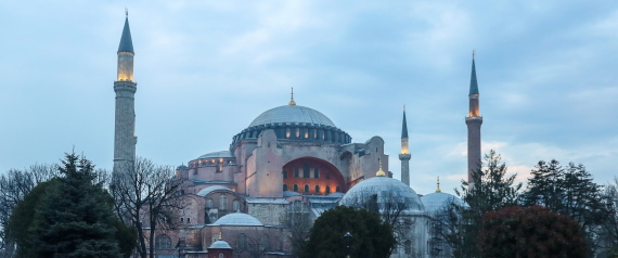 MOSQUE OF HAGIA SOPHIA