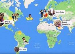 سناب شات يسمح الآن بالتجسس على أماكن وجود أصدقائك عبر تحديثٍ جديدٍ