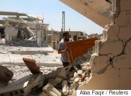 美동맹군 시리아 공습 민간인 사망자가 늘고있다