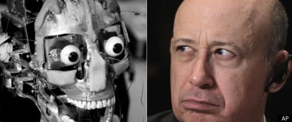 GOLDMAN SACHS ROBOTS