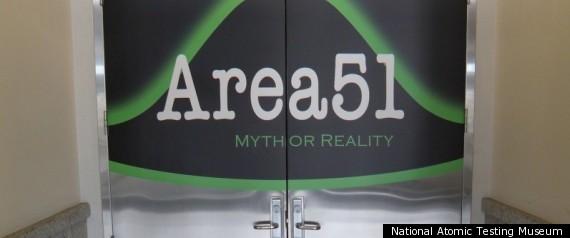AREA 51 DOOR