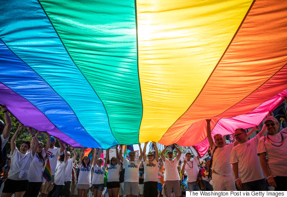 rainbow flag washington post