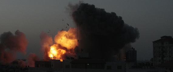 GAZA BOMBING GAZA