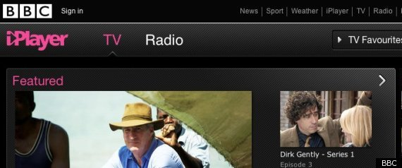 BBC IPLAYER ON XBOX