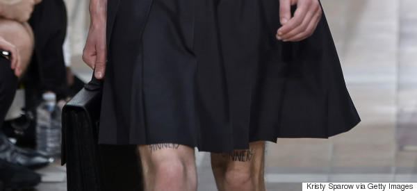 Men Used To Wear Skirts: What Happened?