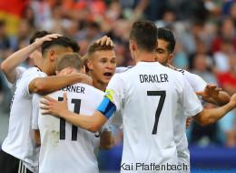 Deutschland - Mexiko im Live-Stream: Confed-Cup-Halbfinale online sehen, so geht's