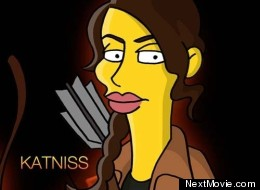 LOOK: 'The Hunger Games' Get 'Simpsonised'