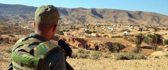 MILITARY AREA TUNISIA