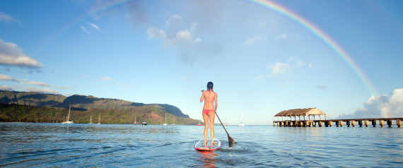 HAWAII PADDLE RAINBOW