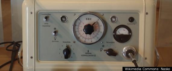 ELECTROSHOCK MACHINE