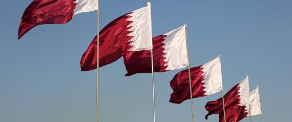 DOHA QATAR FLAG