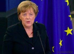 Merkel hält Trauerrede für Kohl – am Ende hat sie Tränen in den Augen