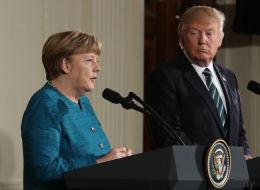 Schulz drängt Merkel, sich Trump beim G20-Gipfel entgegenzustellen