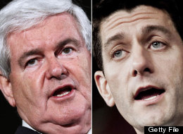 Newt Gingrich Paul Ryan