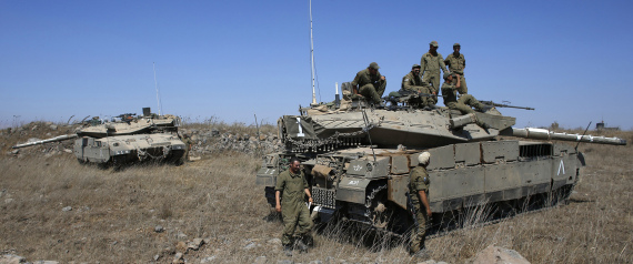 ISRAELI SHELLING OF SYRIA