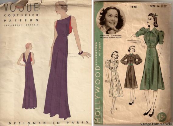 vintage patterns wiki