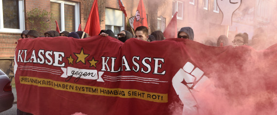 LEFT WING DEMONSTRATION GERMANY