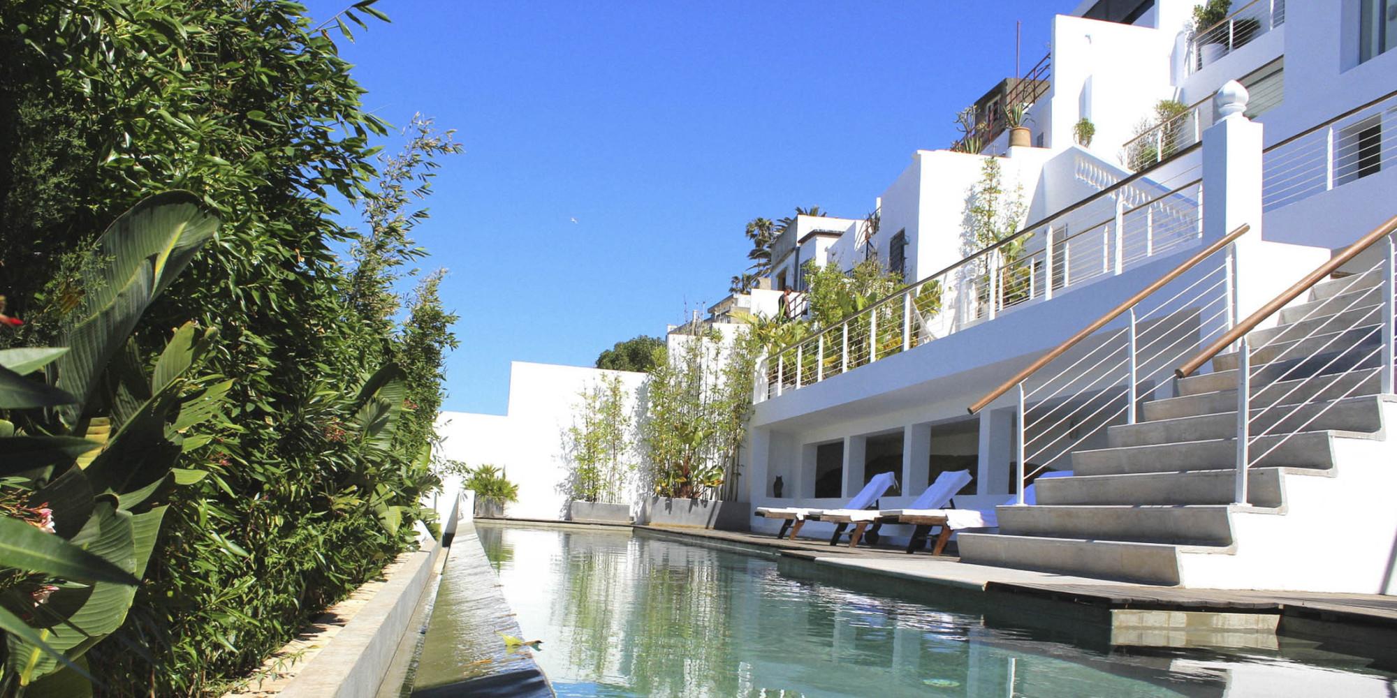Bernard henri l vy vend sa villa tanger photos for Villa de luxe canada