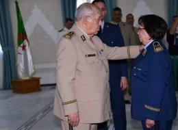 لأول مرة في تاريخ الجزائر.. امرأةٌ تصل إلى رتبة لواء في الجيش
